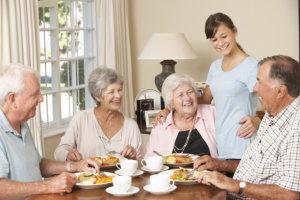 Elderly with Caregiver